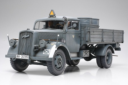 Tamiya German 3Ton 4x2 Cargo Truck -- Plastic Model Military Vehicle Kit -- 1/35 Scale -- #35291