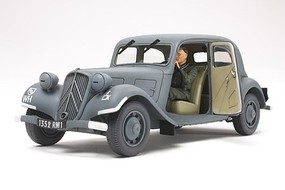 Tamiya Citroen Traction 11CV Staff Car Plastic Model Military Vehicle Kit 1/35 Scale #35301