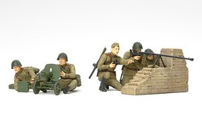 Tamiya Russian Infantry Anti-Tank Team Plastic Model Military Figures Kit 1/35 Scale #35306