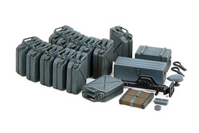 Tamiya German Jerry Can Set Plastic Model Military Diorama Kit 1/35 Scale #35315