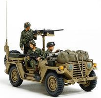 Tamiya US Utility Truck M151A2 Grenada 1983 Plastic Model Military Vehicle Kit 1/35 Scale #35332