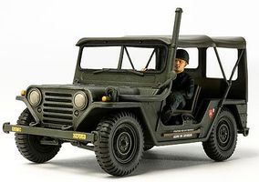 Tamiya Utility Truck M151A2 Vietnam War Plastic Model Military Vehicle Kit 1/35 Scale #35334