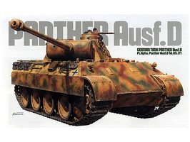 Tamiya German Tank Panzer V Panther Ausf.D Plastic Model Military Vehicle Kit 1/35 Scale #35345