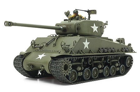 Tamiya US Medium Tank M4A3E8 Sherman ''Easy Eight'' -- Plastic Model Military Vehicle Kit -- 1/35 -- #35346