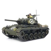 Tamiya US Light Tank M24 Chaffee Plastic Model Military Vehicle Kit 1/35 Scale #37020