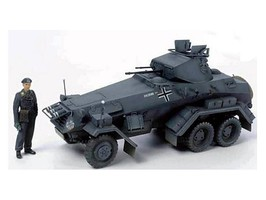 Tamiya German 6-Wheeled Sd.Kfz.231 Plastic Model Military Vehicle Kit 1/35 Scale #37024