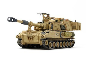 Tamiya 1/35 US M109A6 Paladin Self-Propelled Howitzer Iraq War