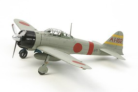 Tamiya Mitsubishi A6M2B (Zeke) Zero Fighter Plastic Model Airplane Kit 1/72 Scale #60780