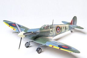 Tamiya Supermarine Spitfire VB Fighter Aircraft Plastic Model Airplane Kit 1/48 Scale #61033