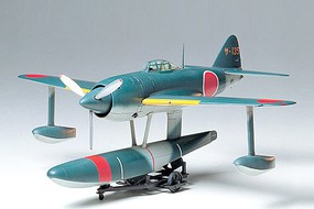 Tamiya Kawanishi N1K1 Kyofu Floatplane Fighter Plastic Model Airplane Kit 1/48 Scale #61036