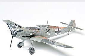 Tamiya Messerschmitt BF109E Fighter Aircraft WWII Plastic Model Kit 1/48 Scale #61050