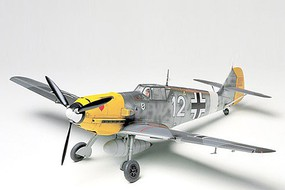 Tamiya Messerschmitt Bf109E-4/7 Tropical Fighter WWII Plastic Model Airplane Kit 1/48 Scale #61063