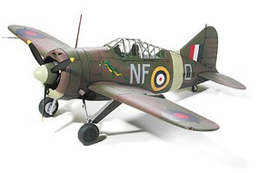Tamiya Brewster B-339 Buffalo Pacific Theater Fighter Plastic Model Airplane Kit 1/48 Scale #61094
