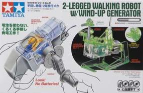 Tamiya Walking Robot w/Wind Up Generator 2 Legs