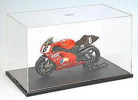 Tamiya Motorcycle Showcase w/Black Base Plastic Model Display Case 1/12 Scale #73005