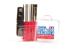 Tamiya Builders 8 Screwdriver Set