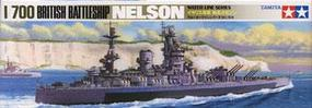 Tamiya British Nelson Battleship Boat Plastic Model Military Ship Kit 1/700 Scale #77504