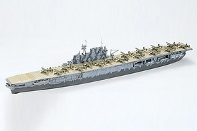 Tamiya USS Hornet Aircraft Carrier Waterline Plastic Model Military Ship Kit 1/700 Scale #77510