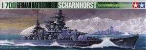 Tamiya German Schamhorst Battleship Boat Plastic Model Military Ship Kit 1/700 Scale #77518