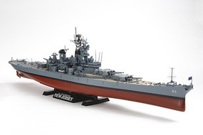 Tamiya US Battleship New Jersey BB-62 Boat Plastic Model Military Ship Kit 1/350 Scale #78028