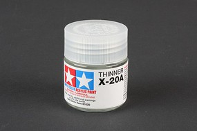 Tamiya Acrylic X20A Thinner 1.5 oz Hobby and Model Acrylic Paint #81030
