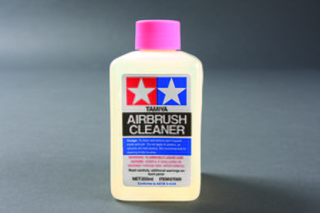 Tamiya Airbrush Cleaner -- 250 ml Bottle -- #87089