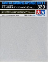 Tamiya Sanding Sponge Sheet 5x5.5 (5mm thick) 320 Grit