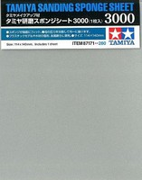 Tamiya Sanding Sponge Sheet 5x5.5 (5mm thick) 3000 Grit