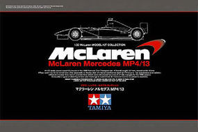 Tamiya McLaren Mercedes MP4/13 Limited Edition F1 GP Plastic Model Car Kit 1/20 Scale #89718
