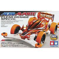 Tamiya JR Aero Avante Orange Special AR Chassis Mini 4wd Car #95083