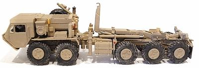 Trident Miniatures M1074 Palletized Load System 5-Axle Tractor -- HO Scale Model Roadway Vehicle -- #81010