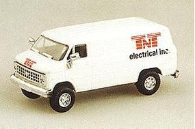 Trident Chevrolet Cargo Van TNT Electrical HO Scale Model Railroad Vehicle #90074