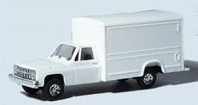 Trident Chevrolet Pickup Cab w/Special Body White HO Scale Model Railroad Vehicle #901541