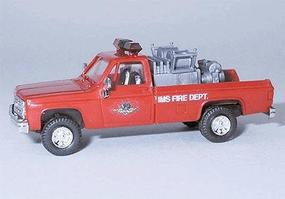 Trident Chevrolet Truck Indianapolis Fire Dept. Mini Pumper HO Scale Model Railroad Vehicle #90225