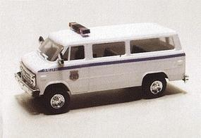 Trident Chevrolet Van Federal Bureau of Investigation HO Scale Model Roadway Vehicle #90298