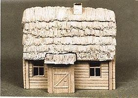 Trident Resin Russian Farmhouse Intact (Kate) HO Scale Model Railroad Building #99005