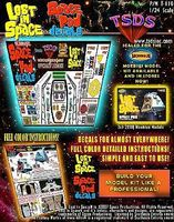 TSDS LiS Space Pod Decal Set for MOE Science Fiction Plastic Model Decal 1/24 Scale #110