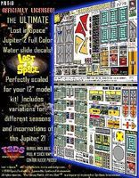 TSDS LiS- Jupiter 2 Spaceship Decal Set for PLL 12 Model Science Fiction Model Decal 1/60 #113