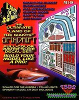TSDS Land of the Giants Spindrift Decal Set for Aurora/PLL Science Fiction Model Decal 1/64 #114