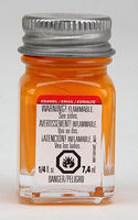 Testors Tangerine 1/4 oz Hobby and Model Enamel Paint #1126tt