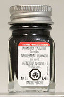 Testors Graphite Gray Metallic 1/4 oz Hobby and Model Enamel Paint #1153tt