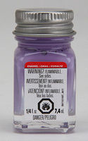 Testors Violet 1/4 oz Hobby and Model Enamel Paint #1189tt