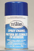 Testors Spray Artic Blue Metallic Enamel 3 oz Hobby and Model Enamel Paint #1209t