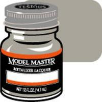 Testors Model Master Titanium Buff Metallic 1/2 oz Hobby and Model Lacquer Paint #1404