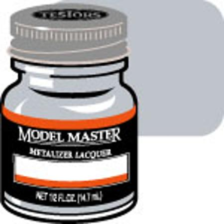 Testors Model Master Aluminum No Buff Metallic 1/2 oz -- Hobby and Model Lacquer Paint -- #1418