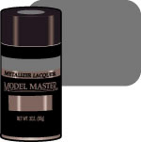 Testors Model Master Spray Gunmetal Buff 3 oz -- Hobby and Model Lacquer Paint -- #1455