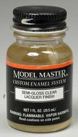 Testors Model Master Semi-Gloss Clear 1 oz Hobby and Model Lacquer Paint #2016