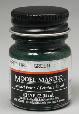 Testors Model Master Imperial Japan Army Navy Green 1/2 oz -- Hobby and Model Enamel Paint -- #2116