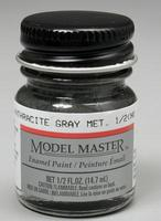 Testors 1/2oz. Model Master Enamel Anthracite Metallic Grey Hobby and Model Enamel Paint #2711