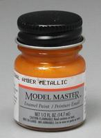 Testors Model Master Turn Signal Amber Metallic 1/2 oz Hobby and Model Enamel Paint #2723